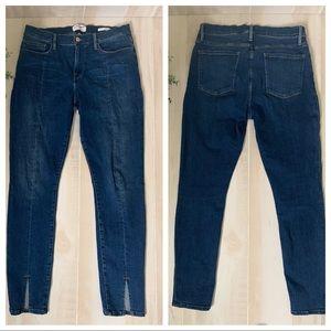 Frame Denim Le Skinny de Jeanne Jeans Sz 32